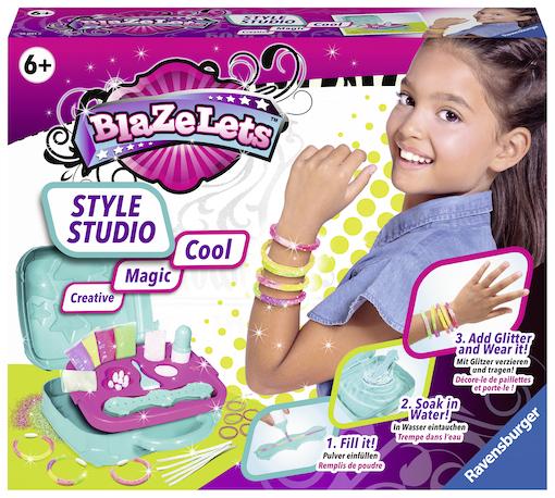 Gewinne Drei Sets: Blazelets Style Studio