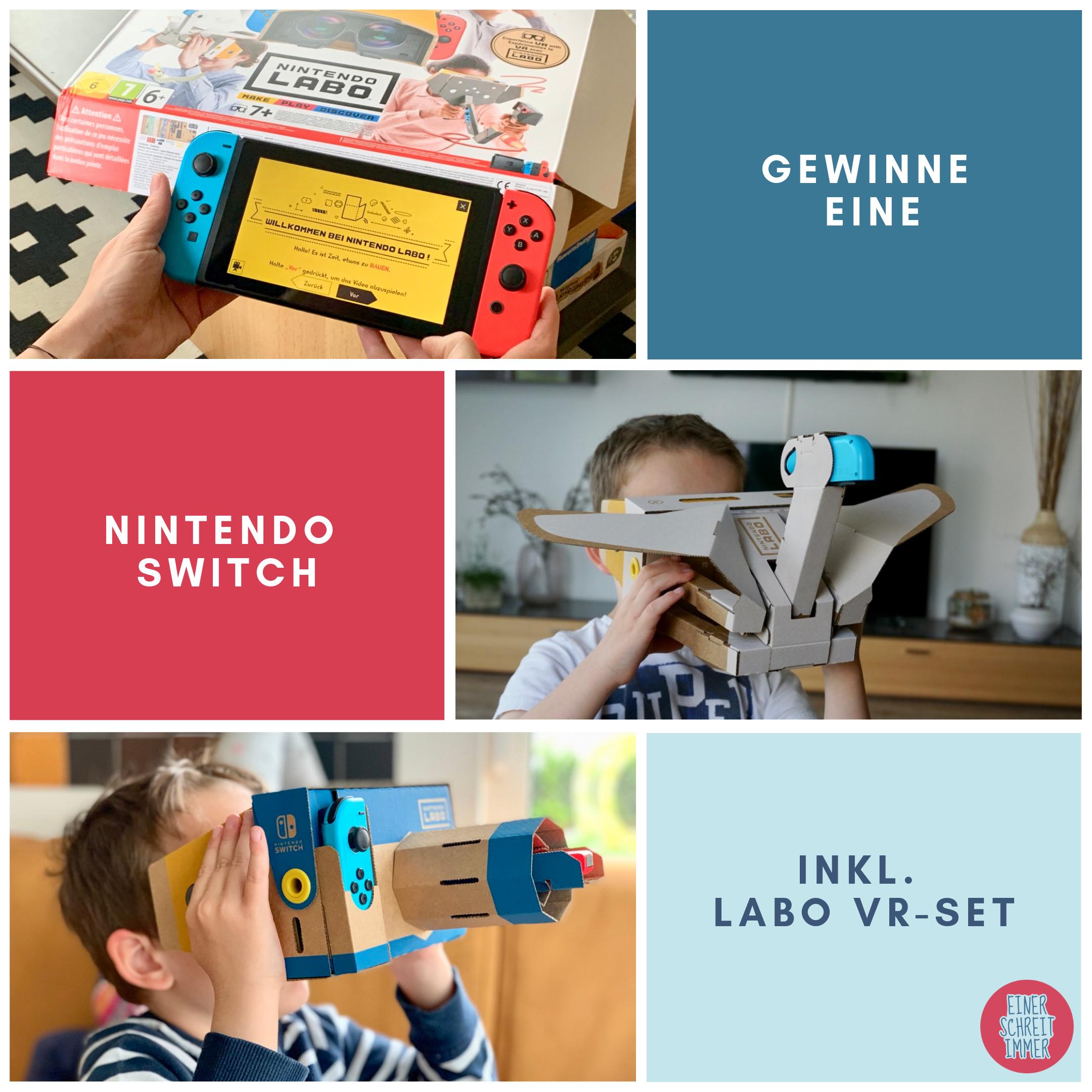 Gewinne eine Nintendo Switch