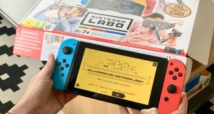 Nintendo Switch Test Erfahrung Labo VR Set