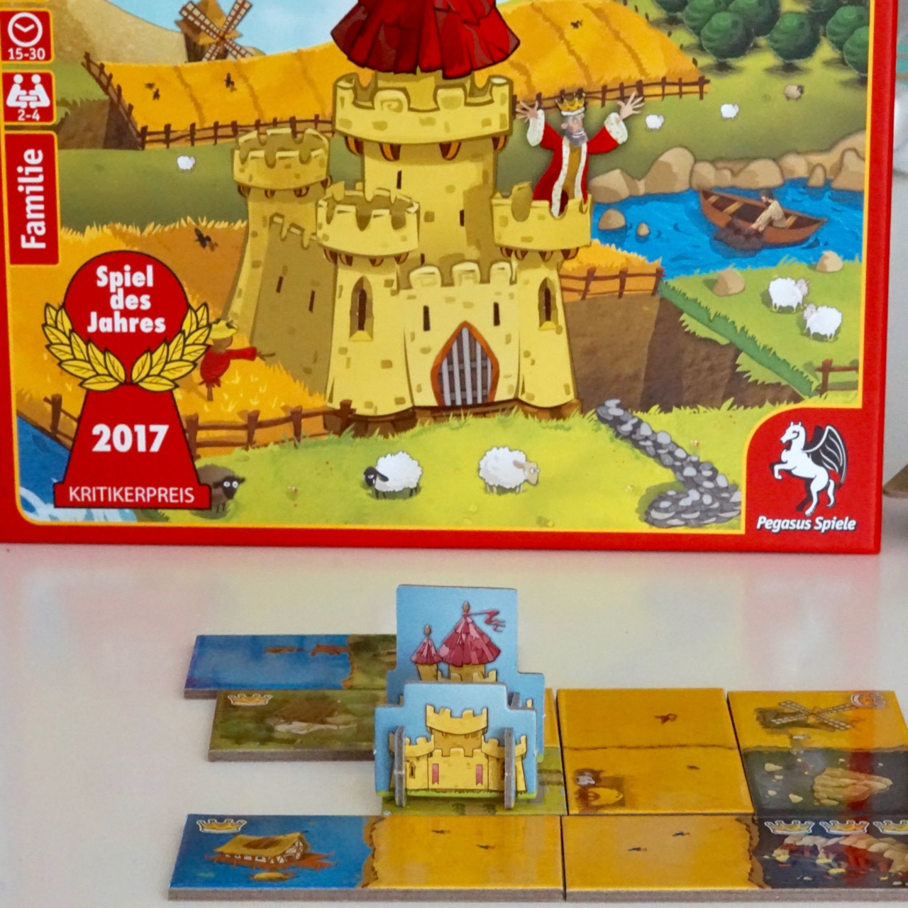 Kingdomino Brettspiel Test