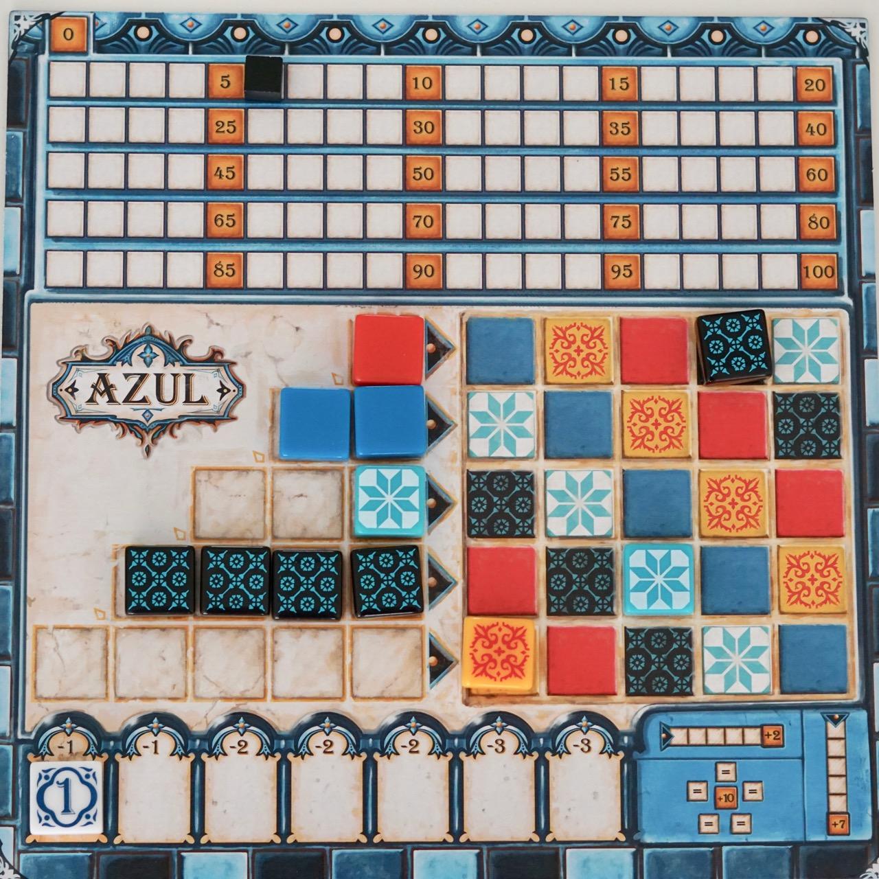 Azul Brettspiel Test
