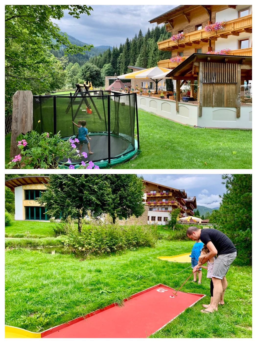 Filzmoos Alpenhof Familienhotel Wanderurlaub Pongau