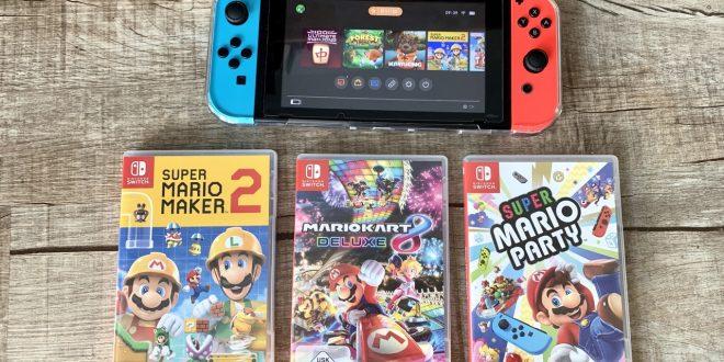 Nintendo Switch Spiele für kleine Kinder