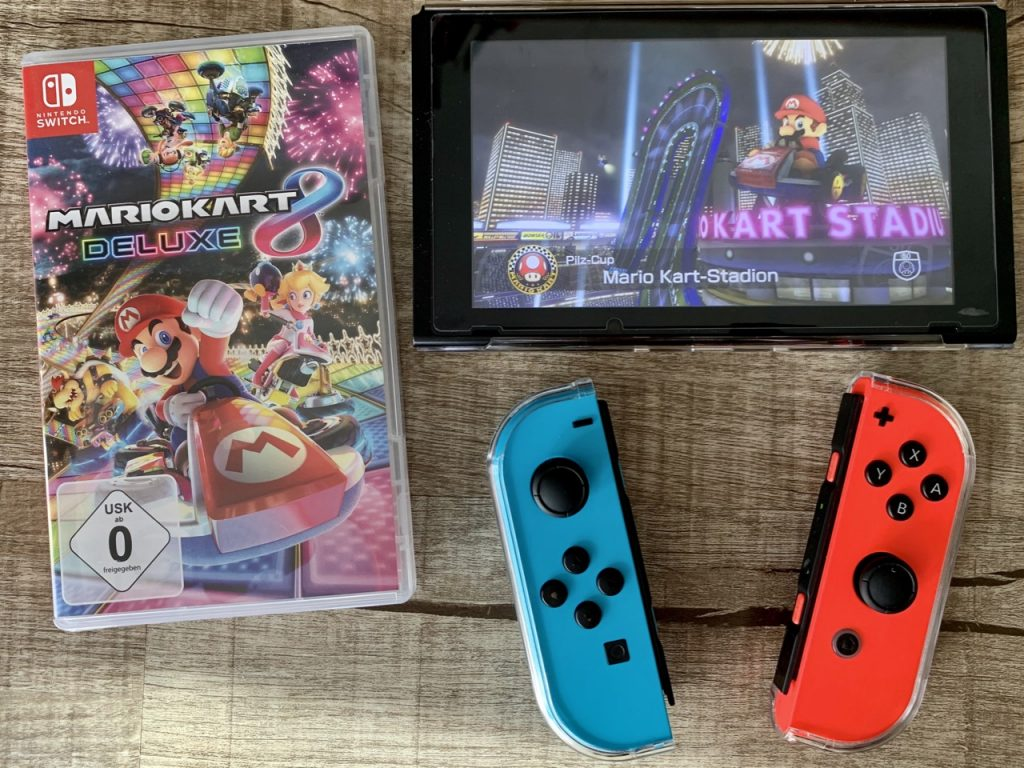 Nintendo Switch Spiele für kleine Kinder Mario Kart 2
