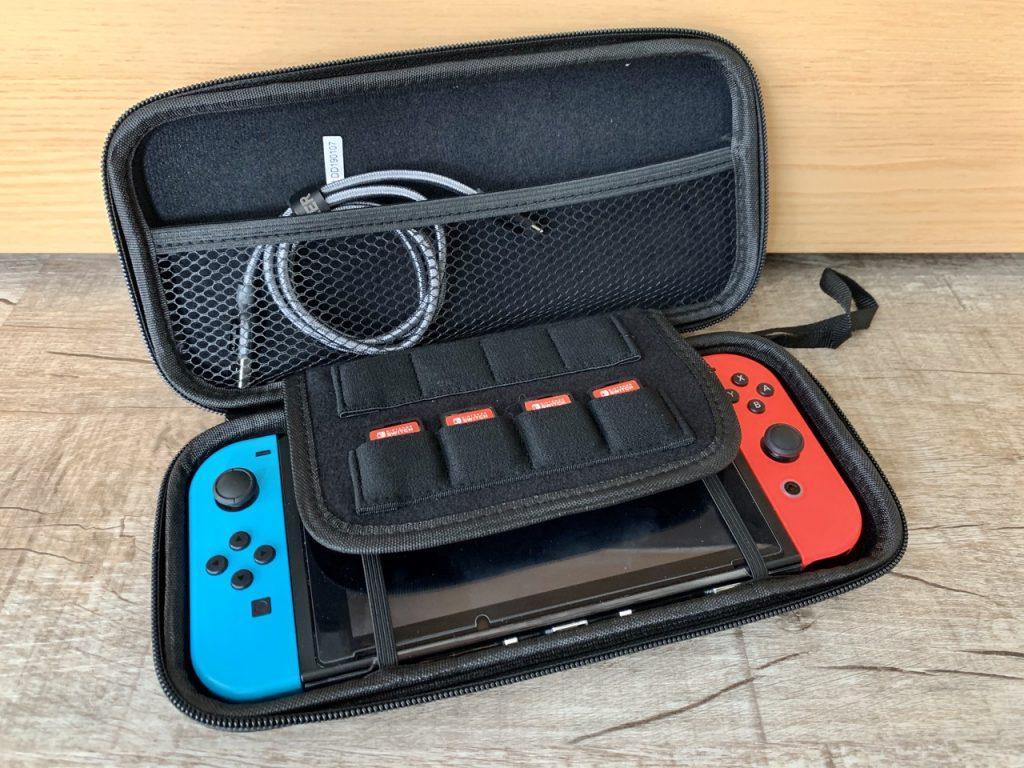 Nintendo Switch Spiele für kleine Kinder Tasche