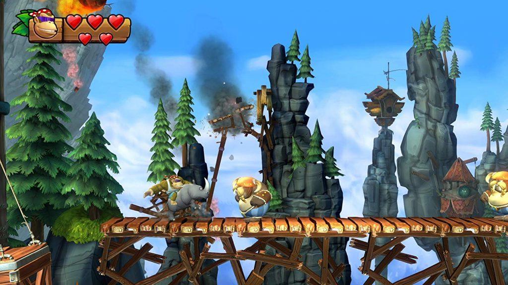 Nintendo Switch Spiele für kleine Kinder Donkey Kong