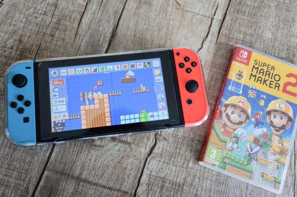 Nintendo Switch Spiele für kleine Kinder Mario Maker 2