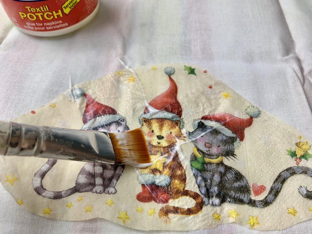 Nikolaussack selber machen ohne Nähen